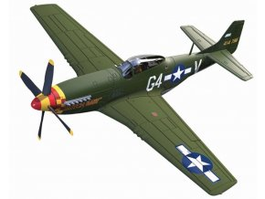 Corgi - P-51D Mustang, 362nd Fighter Squadron, Lt. Julian H Bertram, 1/72